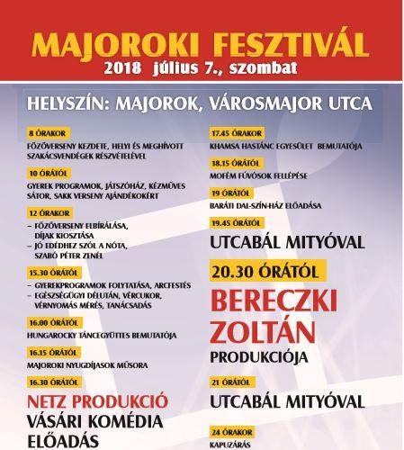 Majorok2 plakát2018