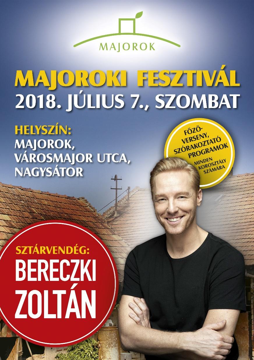 Majoroki fesztivál 2018